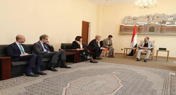 تاکید رئیس شورای عالی سیاسی یمن بر حق قانونی دفاع در برابر تجاوز مداوم سعودی