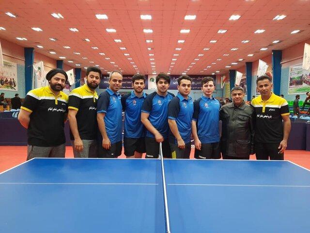 قهرمانی پتروشیمی در مرحله مقدماتی لیگ برتر تنیس روی میز کشور