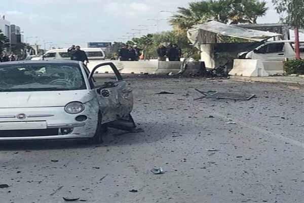 انفجار انتحاری در نزدیکی سفارت آمریکا در تونس