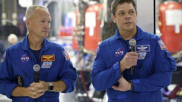 اعزام فضانوردان به فضا از خاک آمریکا