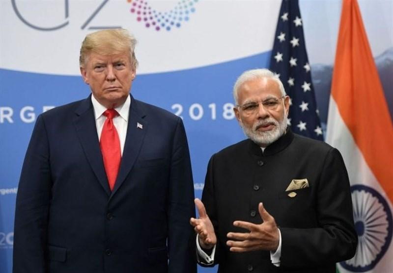 هند ادعای ترامپ در مورد کوشش برای میانجی گری در منازعه با چین را تکذیب کرد