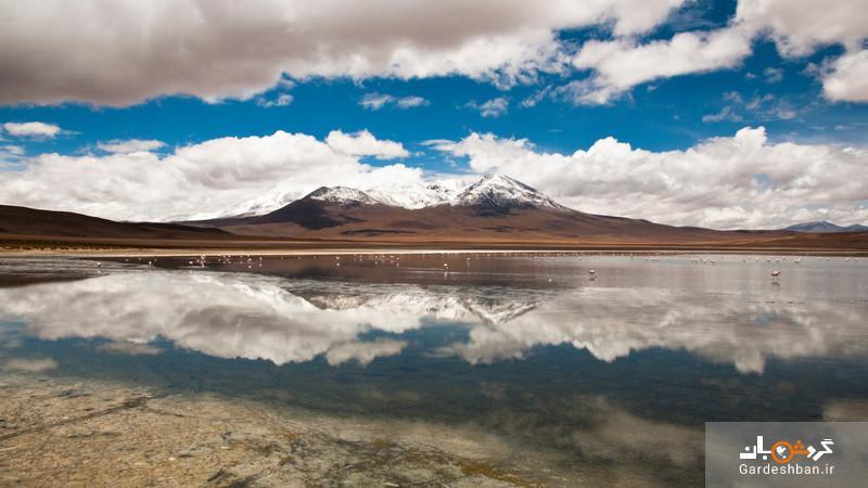 عظیم ترین آینه طبیعی جهان؛ جایی که آسمان به زمین می رسد