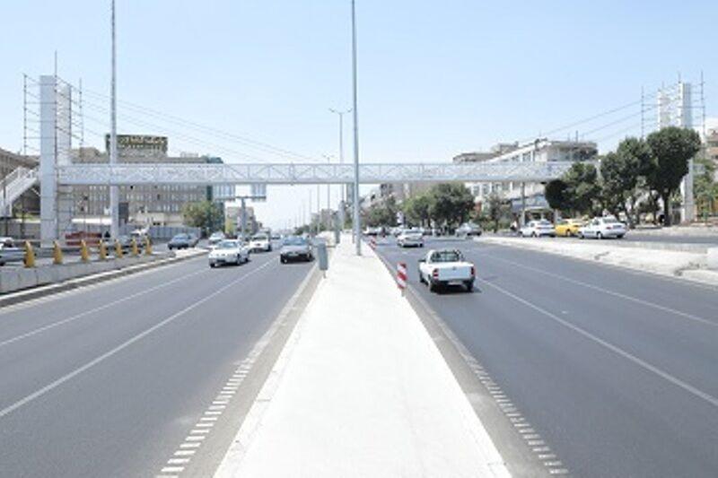 خبرنگاران پل عابر گیشا در منطقه 2 تهران بهره برداری شد