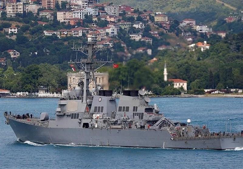 ناوگان دریای سیاه روسیه مانور نظامی ناتو را زیر نظر دارد