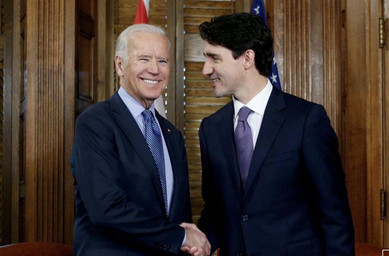 خبرنگاران نخست وزیر کانادا و بایدن تحولات بین المللی رو آنالیز کردند