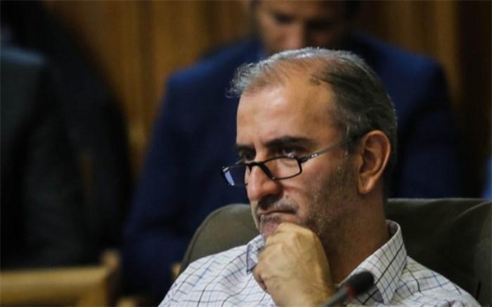 نامه حبیب زاده به شهردار تهران برای برگزاری آزمون تغییر شرایط استخدامی کارکنان شهرداری