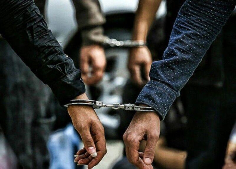 خبرنگاران دستگیری سارقان و برطرف تصرف اراضی ملی در آستارا