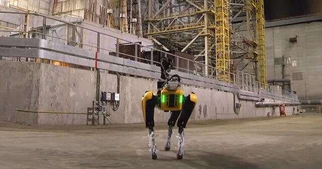 بازرسی روبات داینامیکز از چرنوبیل