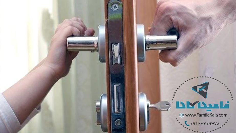 راهنمای انتخاب و خرید بهترین قفل درب حیاط و آپارتمان