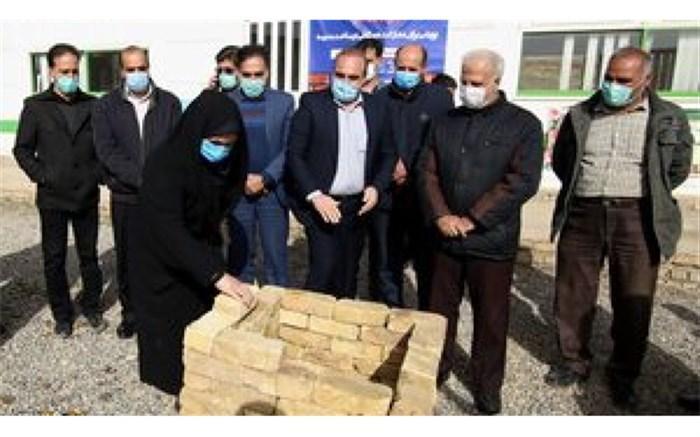 خشت اولین مدرسه طرح آجر به آجربا مشارکت 1600 خیر گذاشته شد