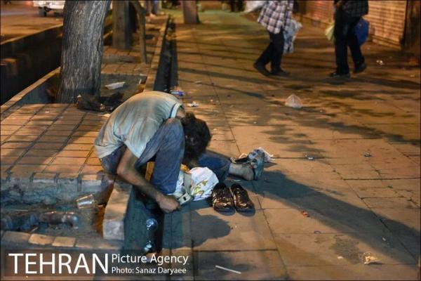 جمع آوری 10 هزار معتاد متجاهر در تهران