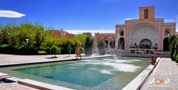 بوستان ناجی؛ باغ قاجاری یزد، عکس