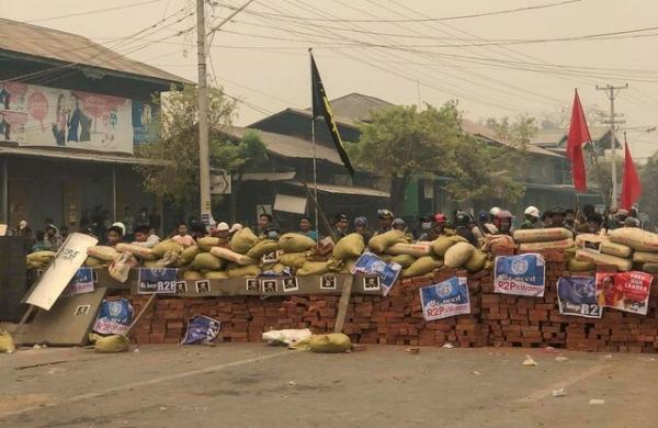 تشکیل هسته های مقاومت محلی برای به چالش کشیدن ارتش میانمار