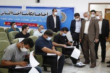 برگزاری آزمون رانندگان بخش حمل و نقل جاده ای مازندران