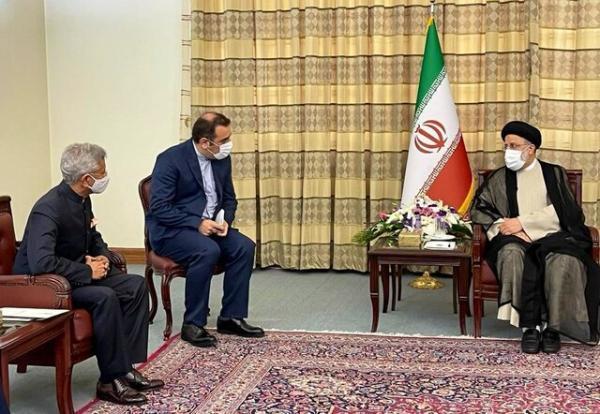 گزارش توییتری وزیر خارجه هند از دیدارش با رئیسی و ظریف