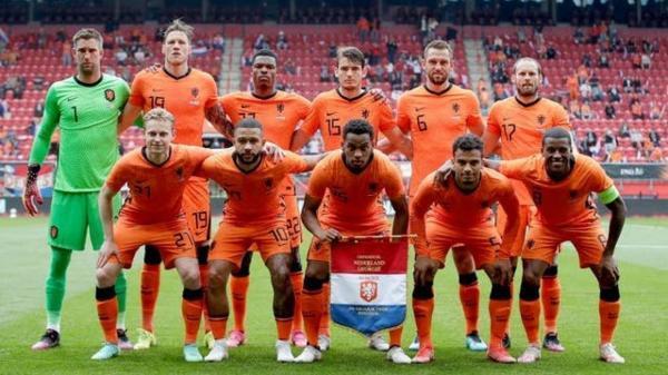 ترکیب تیم های ملی فوتبال هلند و اوکراین اعلام شد